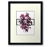 Pura Vida Flowers Framed Print