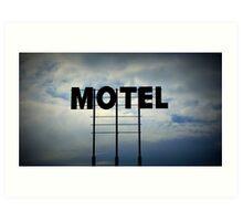 The Big Motel In The Sky Art Print