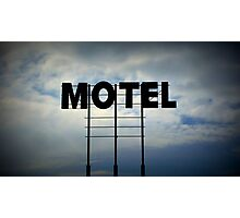 The Big Motel In The Sky Photographic Print