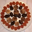 Dried fruits plate for Arbor Day by Ilan Cohen