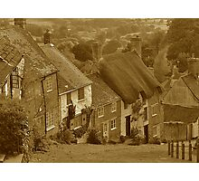 Gold Hill (sepia) Photographic Print