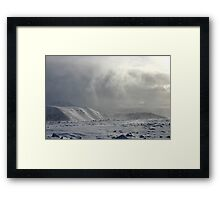 Showers Departing, Arkle, Sutherland Framed Print