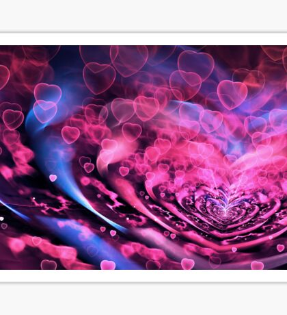Valentine Hearts Background. Valentines Pink Abstract Wallpaper. Backdrop Collage Sticker