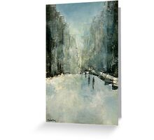 Snowy Day Greeting Card