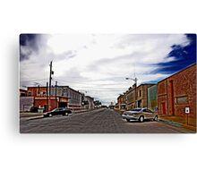 Pecos Disabled Parking Canvas Print