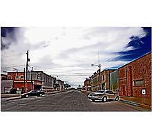 Pecos Disabled Parking Photographic Print