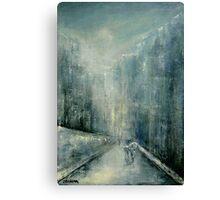 Snowy Day II Canvas Print