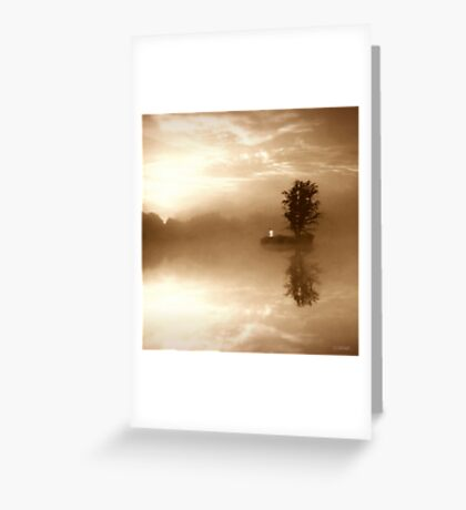 Never Forget Me (The Promise To A Dead Beloved) Greeting Card