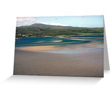 Sweeping Sands, Kyle of Tongue, Sutherland Greeting Card