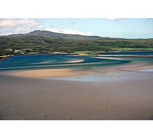 Sweeping Sands, Kyle of Tongue, Sutherland Photographic Print