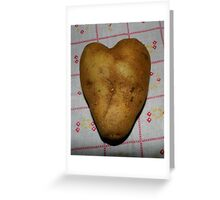 'Tater Heart Greeting Card