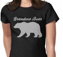 Grandma Bear Womens Fitted T-Shirt