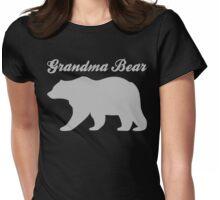 Grandma Bear Womens Fitted T-Shirt