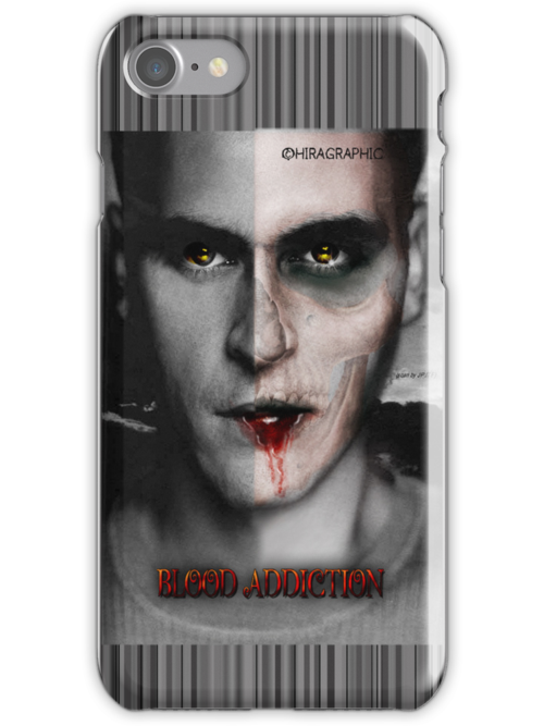 Blood Iphone Case by Hiragraphic