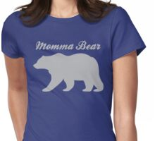 Momma Bear Womens Fitted T-Shirt