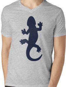 Elegant Lizard Mens V-Neck T-Shirt