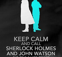 Keep Calm and Call Sherlock by DoctorSherlock