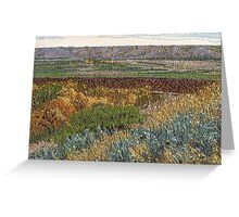 September Valley Greeting Card