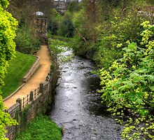 Water of Leith walkway by Tom Gomez