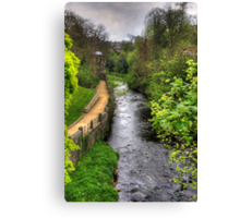Water of Leith walkway Canvas Print