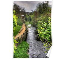 Water of Leith walkway Poster