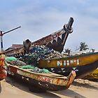 Fishing Boats by Shamila Chady