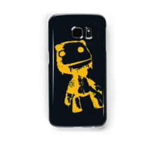 Little Big Planet Sackboy Green and Orange on Black iPhone Case  Samsung Galaxy Case/Skin