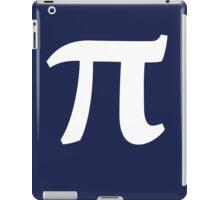 Pi symbol for Pi day iPad Case/Skin