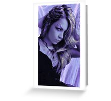 Violet Vixen Greeting Card