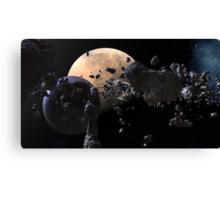 Astroid Mining Canvas Print