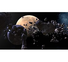 Astroid Mining Photographic Print