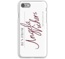 Angela Vickers iPhone Case/Skin