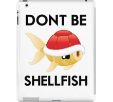 Shell-Fish (2/2) iPad Case/Skin