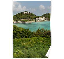 Antigua Long Bay Poster