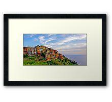 Corniglia  Framed Print