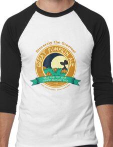 It's the Great Pumpkin Ale Charlie Brown Men's Baseball ¾ T-Shirt