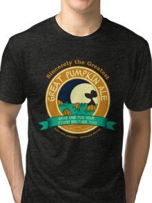 It's the Great Pumpkin Ale Charlie Brown Tri-blend T-Shirt