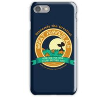 It's the Great Pumpkin Ale Charlie Brown iPhone Case/Skin