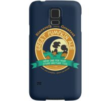 Great Pumpkin Ale Linus and Lucy Samsung Galaxy Case/Skin