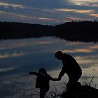 Daddy's Hand by borettiphoto