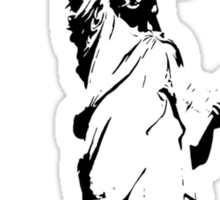 Statue of the Modern Teenager Sticker