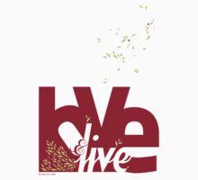 Love & Live (red) Kids Tee