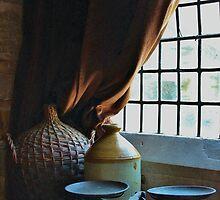 Window ledge. by Jeanette Varcoe.