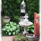 Birdbath Path by Kenneth Hoffman