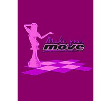 YOUR MOVE - Pink Photographic Print