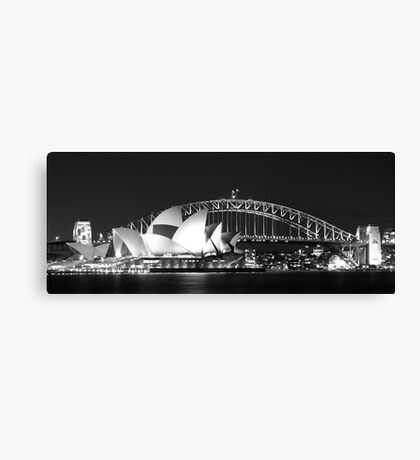 Sydney Harbour and Opera House Canvas Print