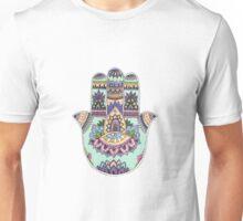 Hamsa Flower Unisex T-Shirt