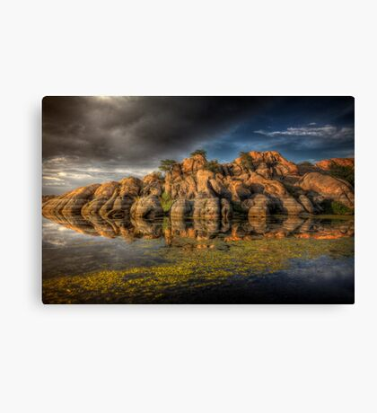 Clifflection Canvas Print