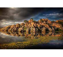 Clifflection Photographic Print