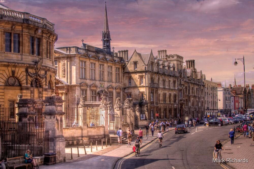 Sheldonian Theatre - Oxford, England UK by Mark Richards